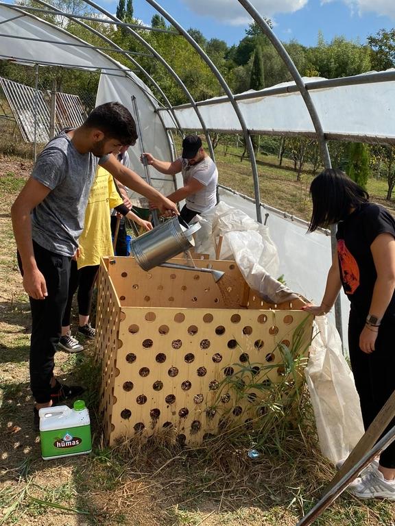 Kompost Gübresi Üretimimizi Hümik Asit ile Geliştiriyoruz