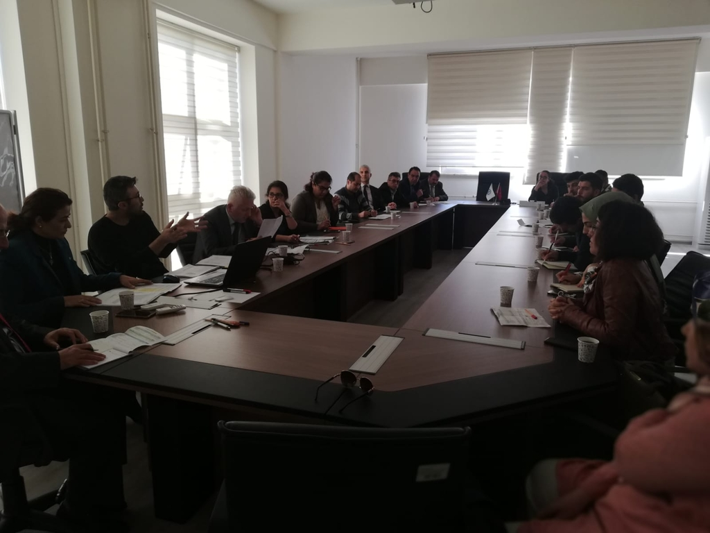 """GreenMetric Meeting"" was held with the Unit Representatives of the University (9 October 2019)"