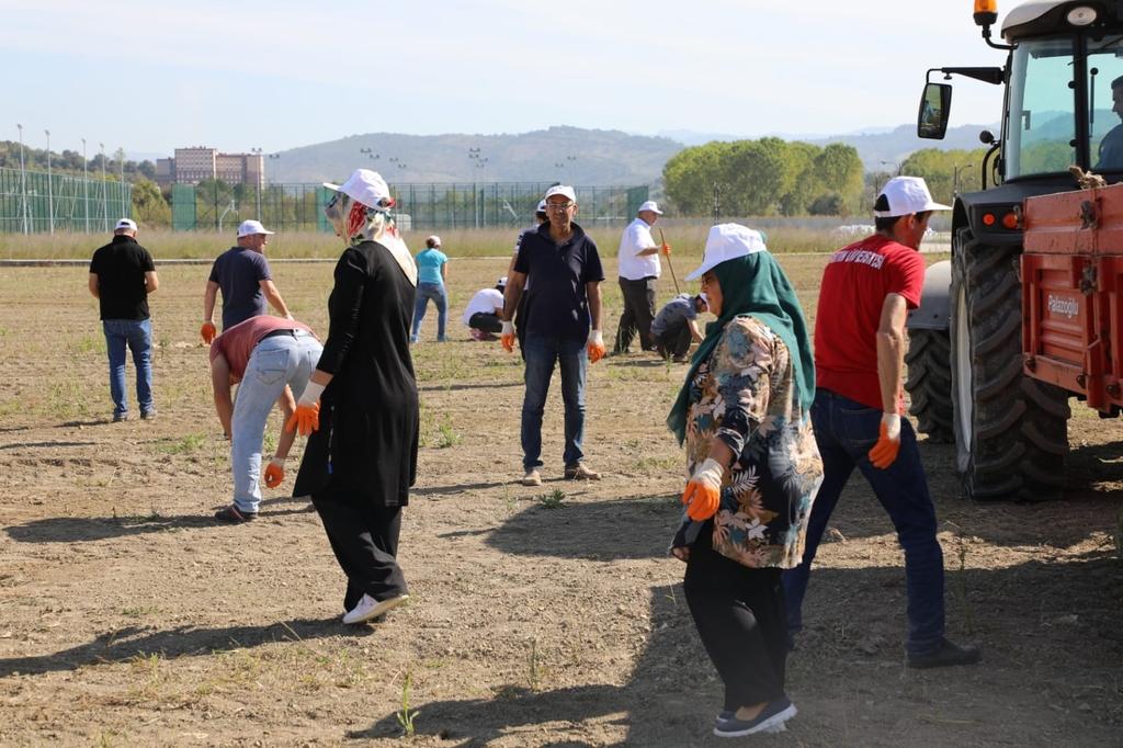 """Bartın Üniversitesi """"Yeşil Kampüs"""" için Çalışmalara Devam Ediyor"""